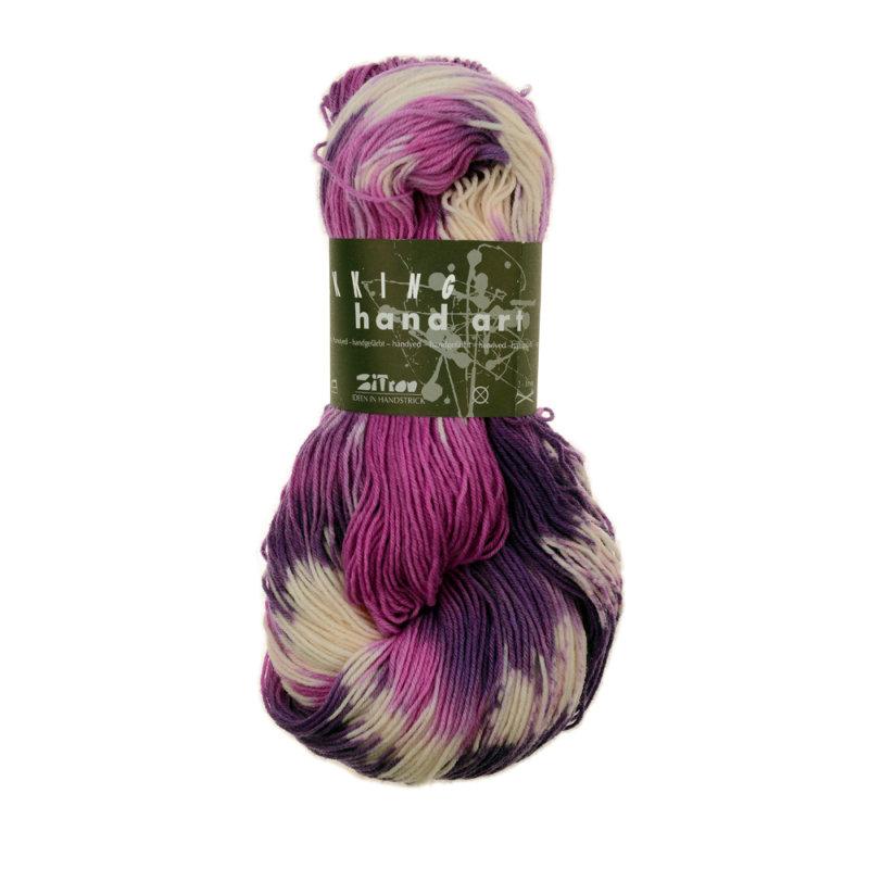 Zitron hand art fb 752 der faden wolle zum stricken for Welche farben ergeben lila